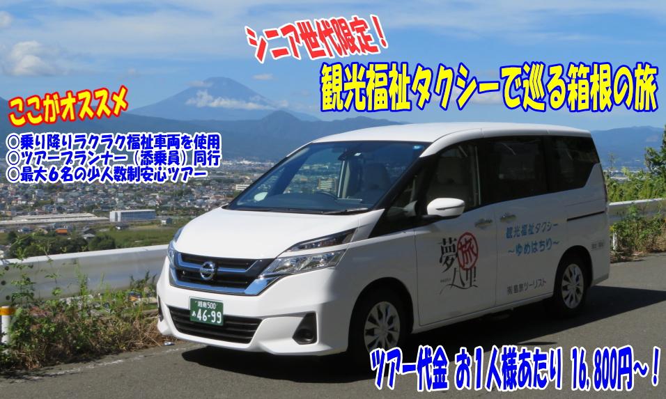 箱根旅行 観光タクシー ツアー